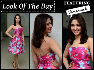 Look Of The Day Tamannaah Bhatia Wearing Monique Lhuillier