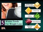 Top Five Winter Foods For Weight Loss