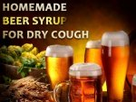 Homemade Beer Syrup For Dry Cough