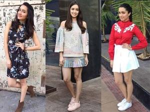 Shraddha Kapoor Ok Jaanu Promotions Lookbook