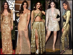 Bollywood Divas Who Brought Back Golden Colour In Fashion