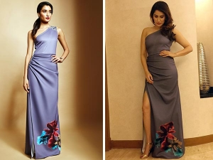 Sagarika Ghatge Wearing Ritika Bharwani Gown