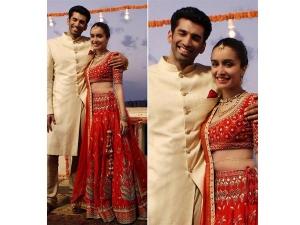 Shraddha Kapoor Wearing Anita Dongre Bridal Couture In Ok Jaanu