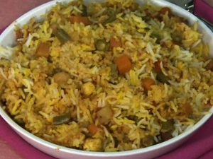 Step By Step Procedure For Vegetable Biryani
