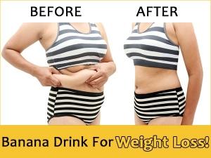 Banana Drink For Natural Weight Loss