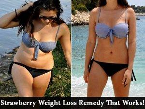 Strawberry Remedy For Slim Waist
