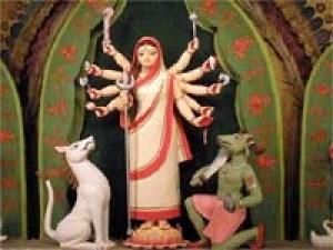 First Durga Puja Belur Math