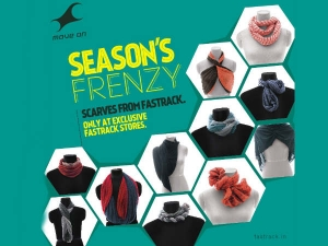Fashionable Fastrack Scarves
