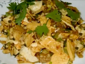 Quick And Easy Papad Ki Sabzi