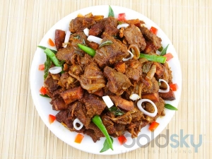 Mutton Pepper Fry Andhra Special Recipe