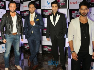 Stylish Male Honchos Grace Gq India Party