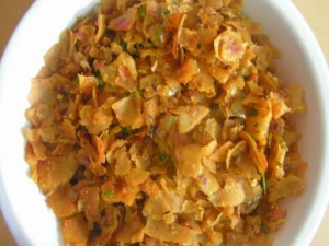 Healthy Roti Poha Recipe For Breakfast