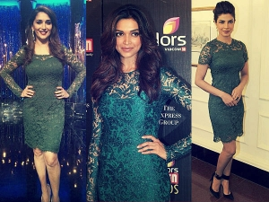 Three Ravishing Celebs In Similar Resplendent Attires