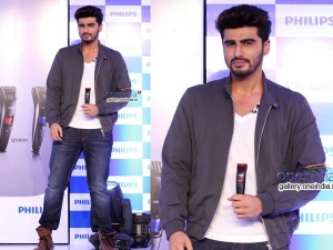 Arjun Kapoor Looks Dapper In Philips India Event