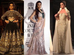 Icw 2014 Bollywood Showstoppers On The Ramp