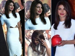 Gorgeous Priyanka At The Mary Kom Trailer Launch