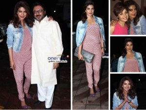 Priyanka Chopra Wears Jumpsuit For Birthday Bash