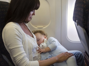 Nightmare Of Flying With Baby