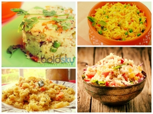 Twelve Healthy Upma Recipes For Breakfast