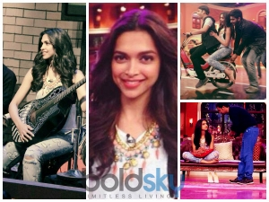 Ravishing Deepika Padukone In Ripped Jeans