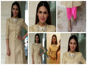 Esha Gupta At Fine Shine Store Jewellery Launch