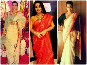 Ten Bengali Sarees To Have For Durga Puja