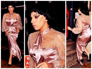 Lady Gaga Eccentric Victorian Style