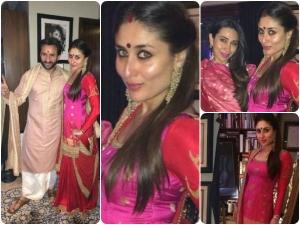 Kareena Kapoor Looks Exotic In Sabyasachi