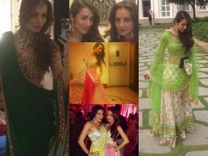 Malaika Arora Khan At Arpita Wedding Pics