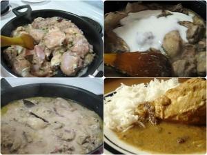Quick Indian White Chicken Safed Murgh Recipe