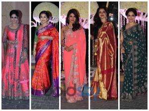 Alluring Angels At Manish Malhotra Niece Wedding Reception