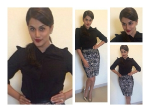 Taapsee Pannu Back To Back Stylish Looks