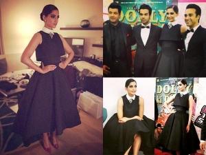 Sonam Kapoor Looks Like A Princess Dolly Ki Doli Dubai Premiere