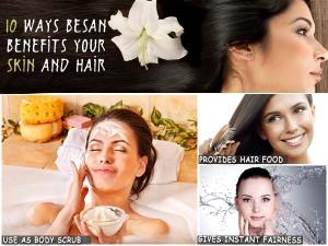 10 Ways Besan Benefits Your Skin Hair 061026