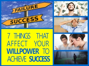 7 Factors That Affect Willpower