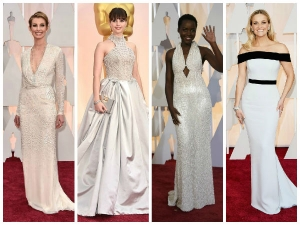 Oscars 2015 White Gowns Rule The Red Carpet