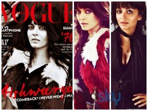 Ten Poses Of Aishwarya Rai For Vogue India Magazine