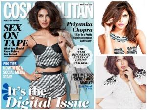 Priyanka Chopra Covers Cosmopolitan Magazine