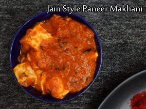Paneer Makhani Recipe (Jain Style): No Onion No Garlic Paneer Butter Masala