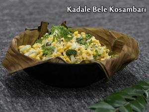 Kadale Bele Kosambari Recipe: How To Make Chana Dal Salad