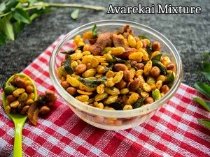 Healthy Snacks: How To Make Avarekai Mixture