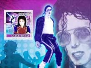 Michael Jackson Stamp Collection