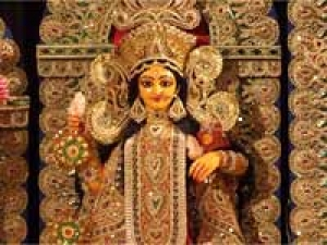 First Durga Puja Belur Math Kumari Puja