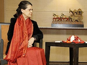 Sonia Gandhi Sari Fashion