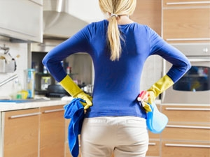 Tips Clean Kitchen After Feasts