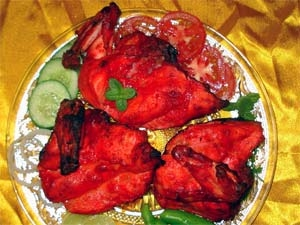 Tandoori Chicken Microwave Recipe