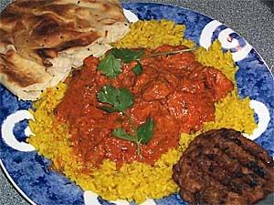 Chicken Tikka Masala Microwave Recipe