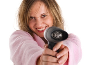 Hair Dryer Fast Cleaning