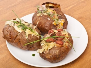 Baked Potatoes Microwave Recipe