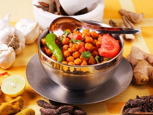 Channa Chaat Snack Recipe
